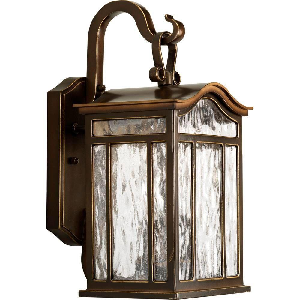 Lanterne murale à 2 Lumières, Collection Meadowlark - fini Bronze Lustre
