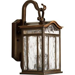 Progress Lighting Meadowlark Collection 2-Light Oil-Rubbed Bronze Outdoor Wall Lantern