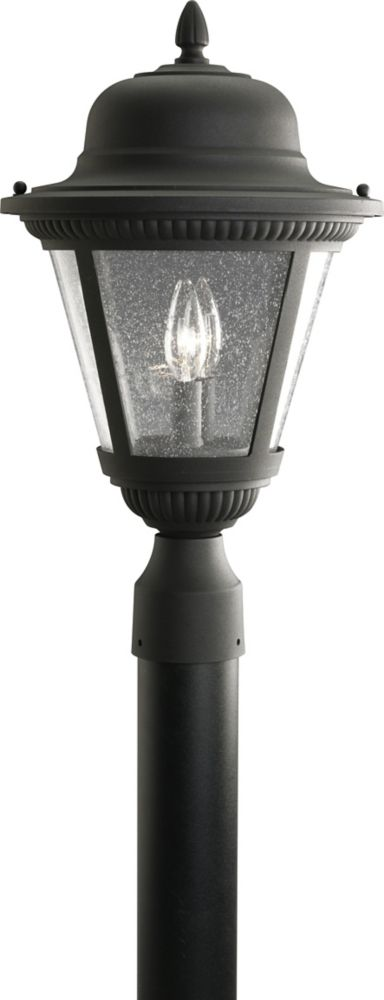 Lampadaire à 2 Lumières, Collection Westport - fini Noir