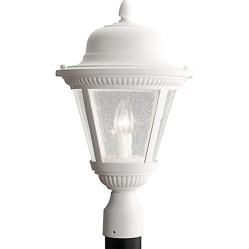 Lampadaire à 2 Lumières, Collection Westport - fini Blanc