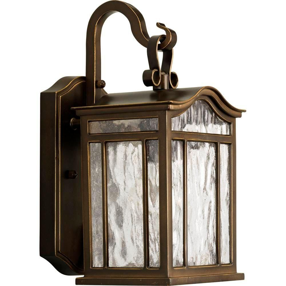 Meadowlark Collection Oil Rubbed Bronze 1-light Wall Lantern