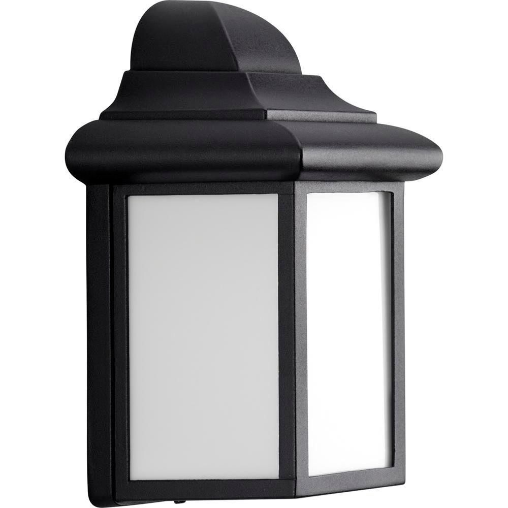 Milford Collection Black 1-light Wall Lantern