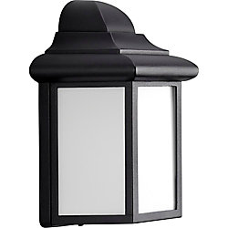 Progress Lighting Milford Collection Black 1-light Wall Lantern