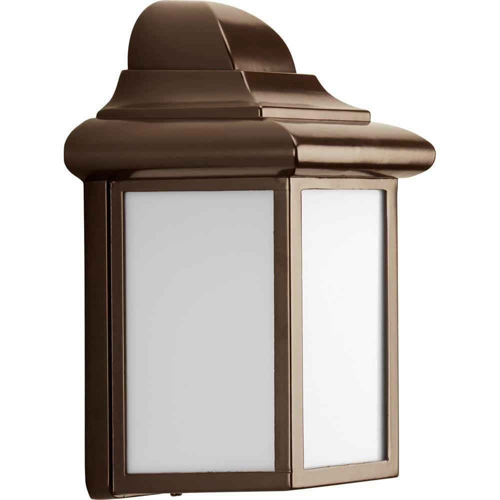 Milford Collection Antique Bronze 1-light Wall Lantern