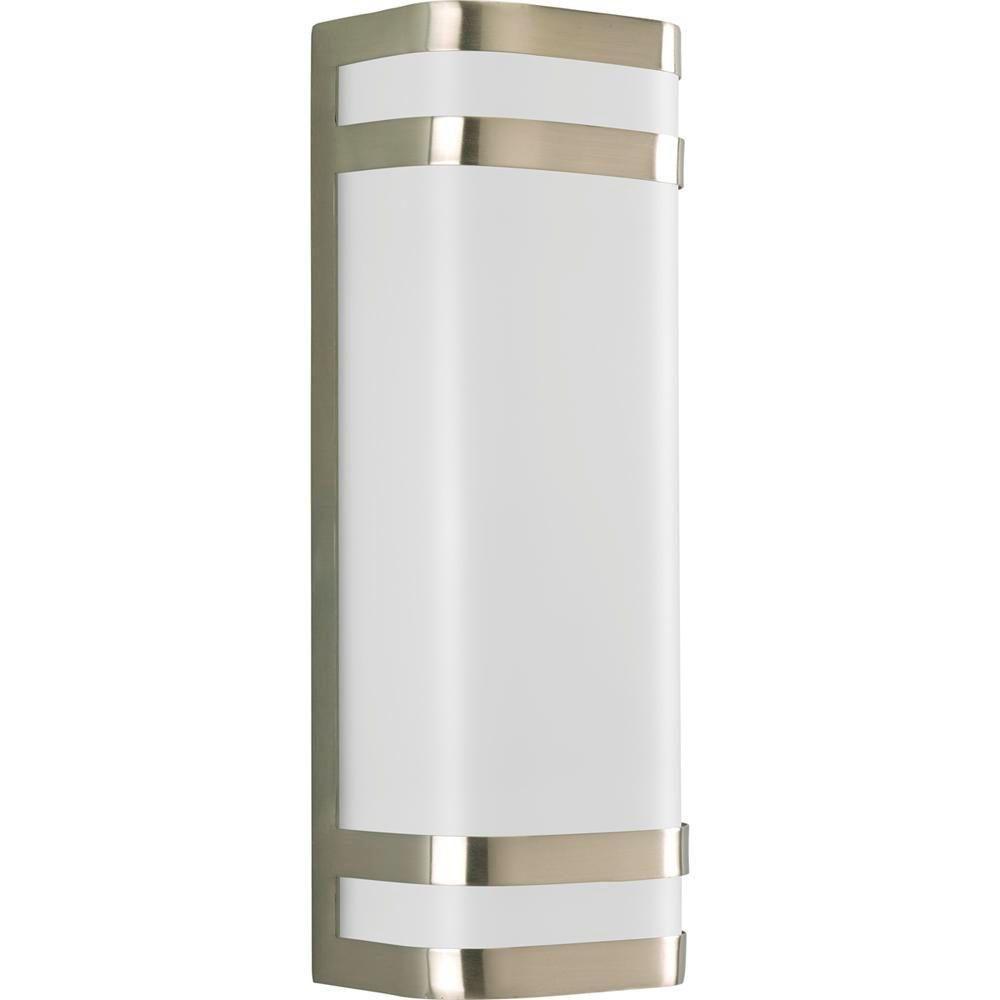 Progress Lighting Valera Collection Brushed Nickel 2-light Wall Lantern