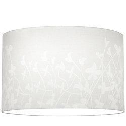 Progress Lighting Abat-jour, Collection Chloe - fini Blanc Motif Floral