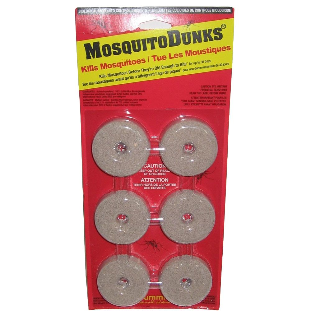 Mosquito Dunks - 6 Pack