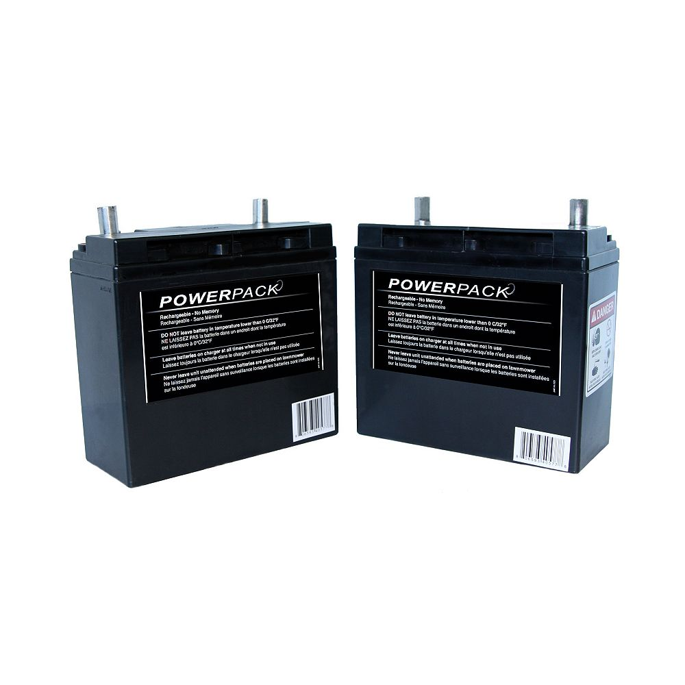 Terra Phase Set of 2 Powerpack batteries for Solaris Mower