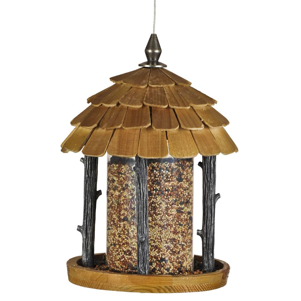 hanging aspectek gazebo bird products guarantee date delivery all plastic petsn petsnall feeder