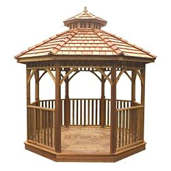Outdoor Living Today Bayside 12 ft. Octagon Panelized Gazebo
