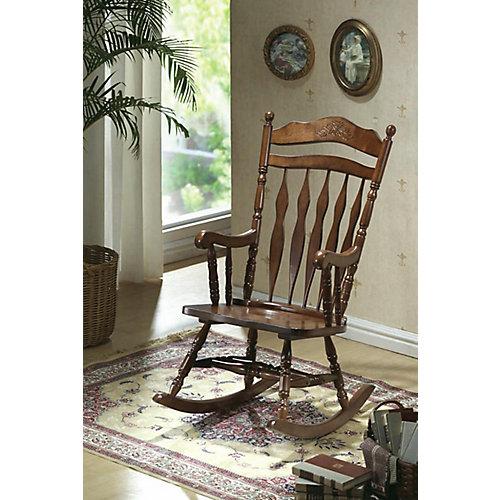 Solid Wood Rocking Chair in Walnut