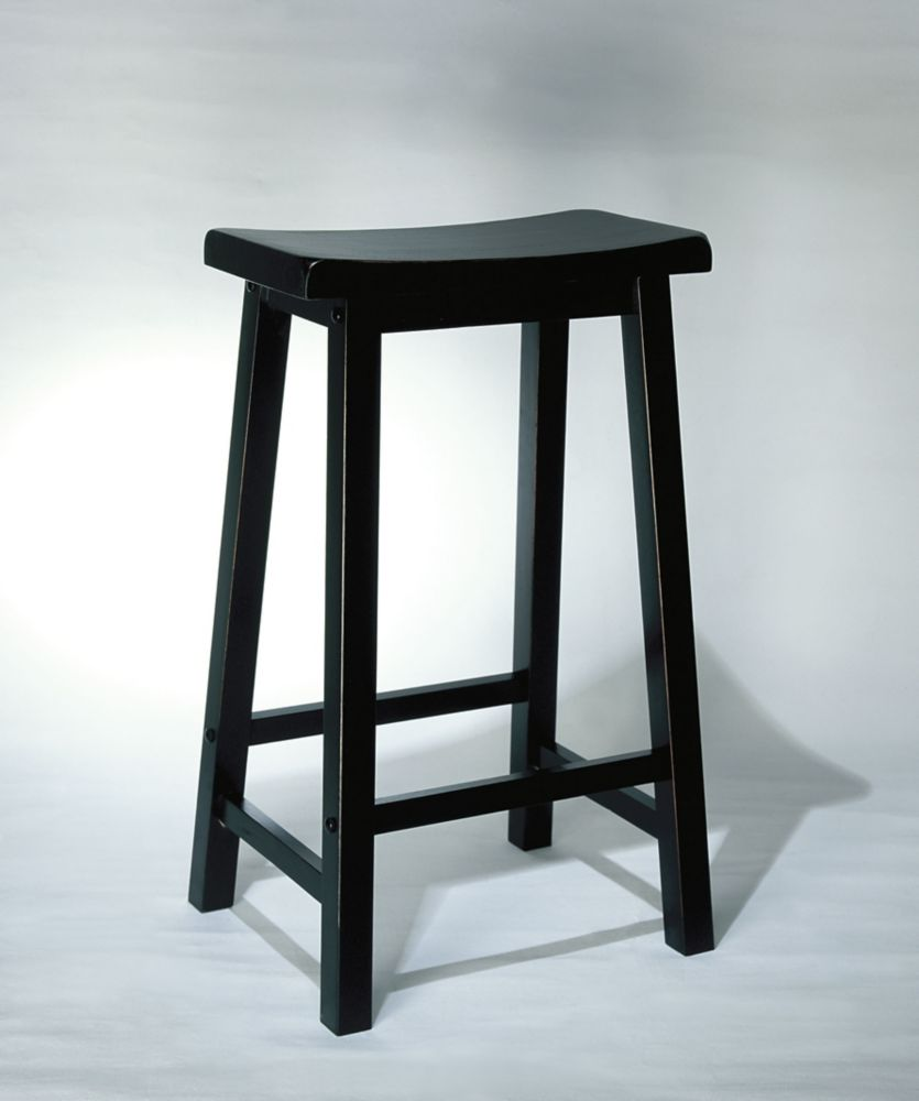 Black 29 In. Bar Stool