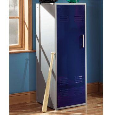 Powell Teen Trends Navy Blue Storage Locker