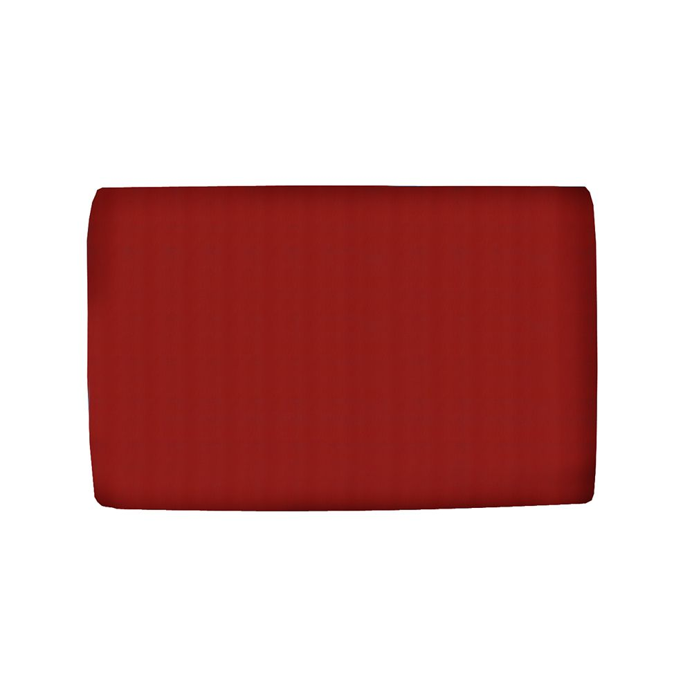 Upholstered Kids Full Headboard In Duck Red
