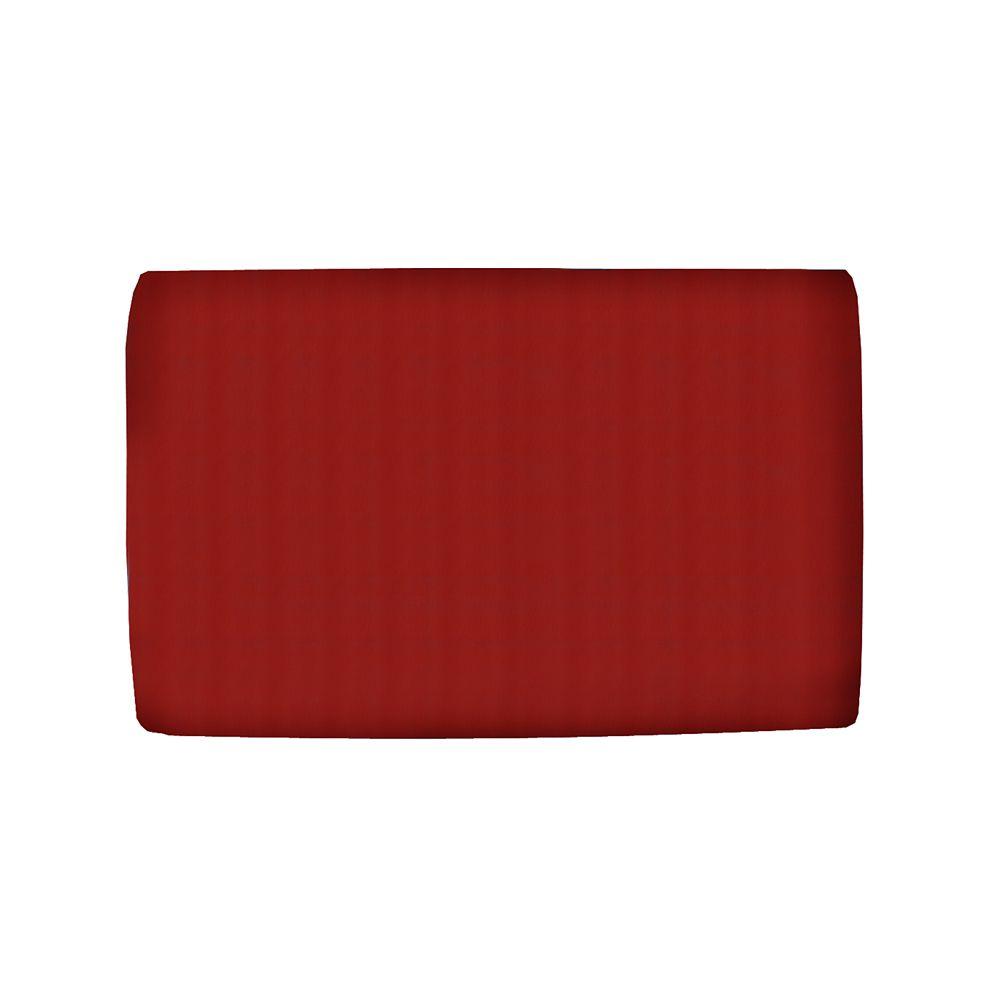 Upholstered Kids Full Headboard In Duck Red