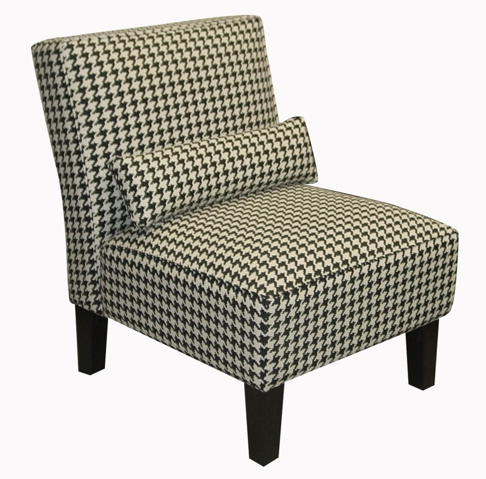 Armless Chair In Berne Black