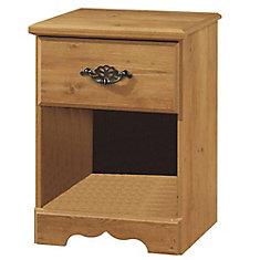Table de chevet 1 tiroir Prairie, Pin country