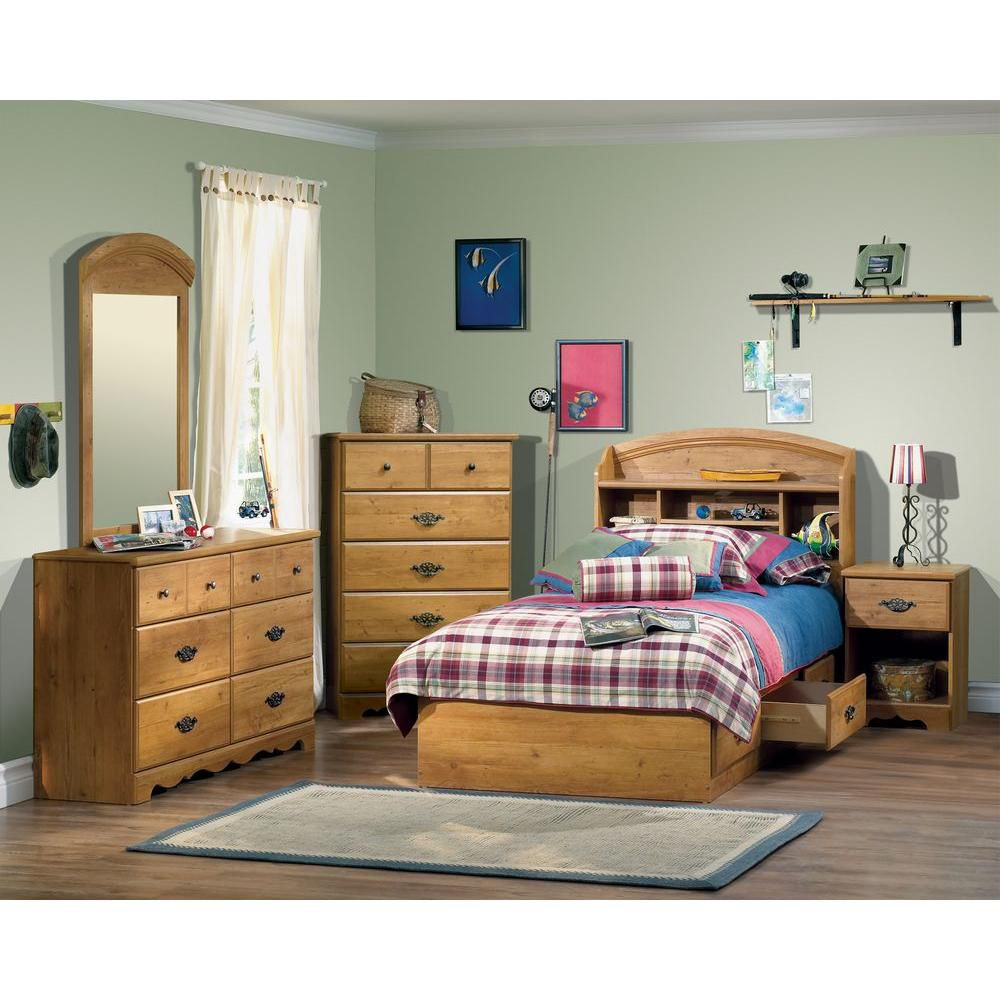 Country Pine - Double Dresser