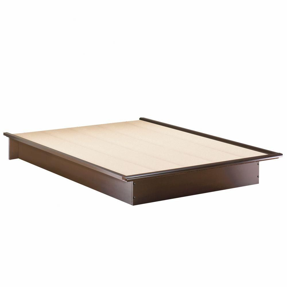 Lux Full Platform Bed Chocolate