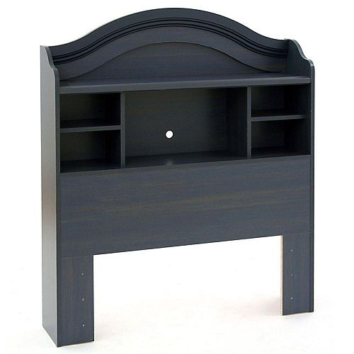 South Shore Bookcase Head Board - Blueberry