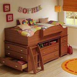 South Shore Imagine Loft Bunk Bed