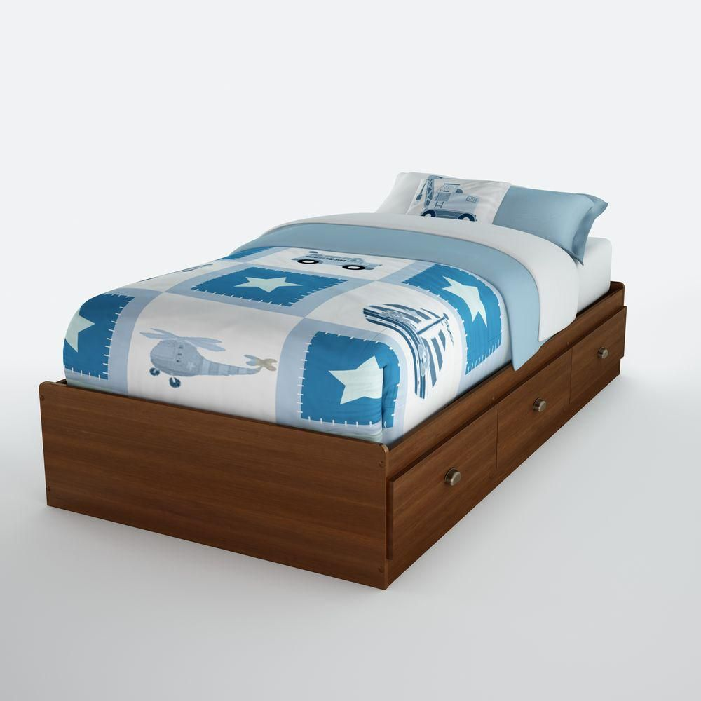 Nevan Twin Mates Bed 39 Inch