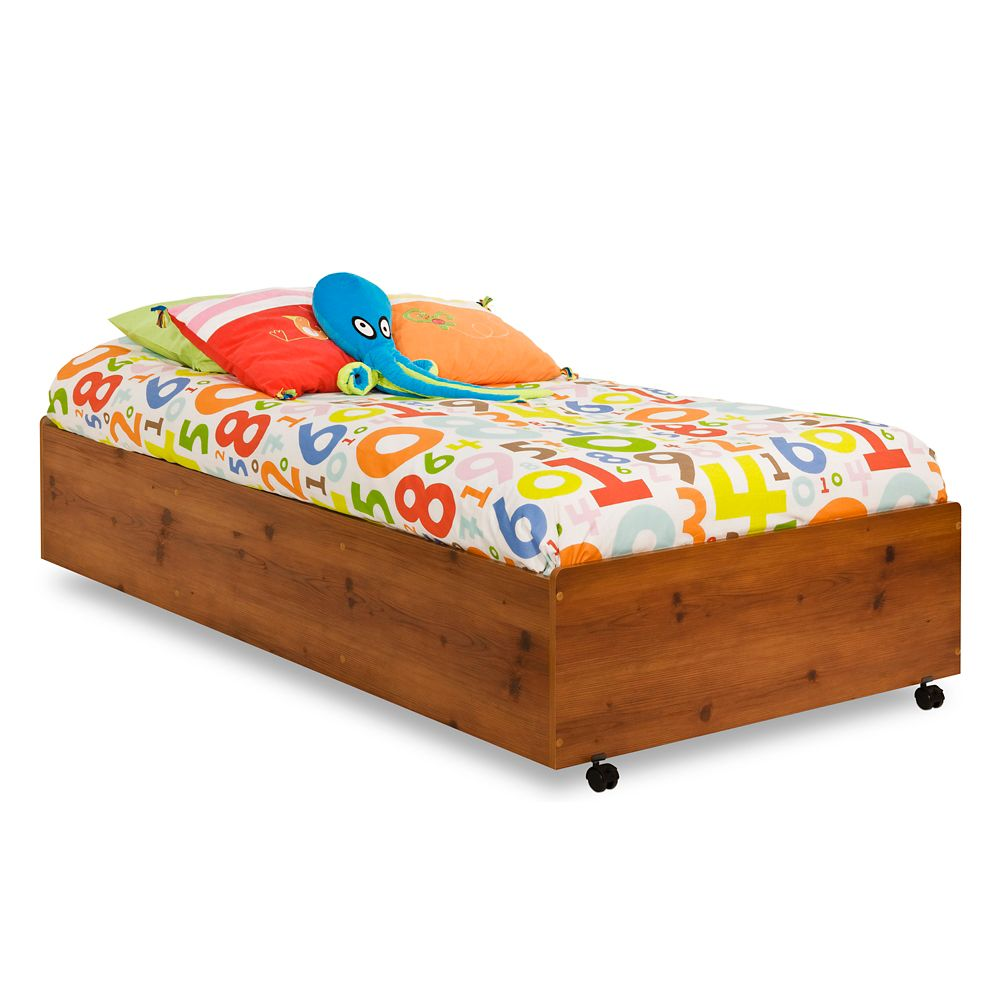 Clever 39 In. Bed on Casters