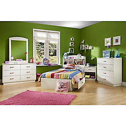 Logik 4-Drawer Chest, Pure White
