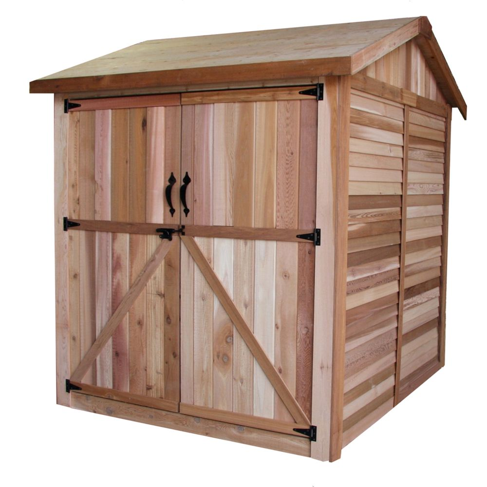Maximizer Storage Shed - No Shingles (6 Ft. x 6 Ft.)