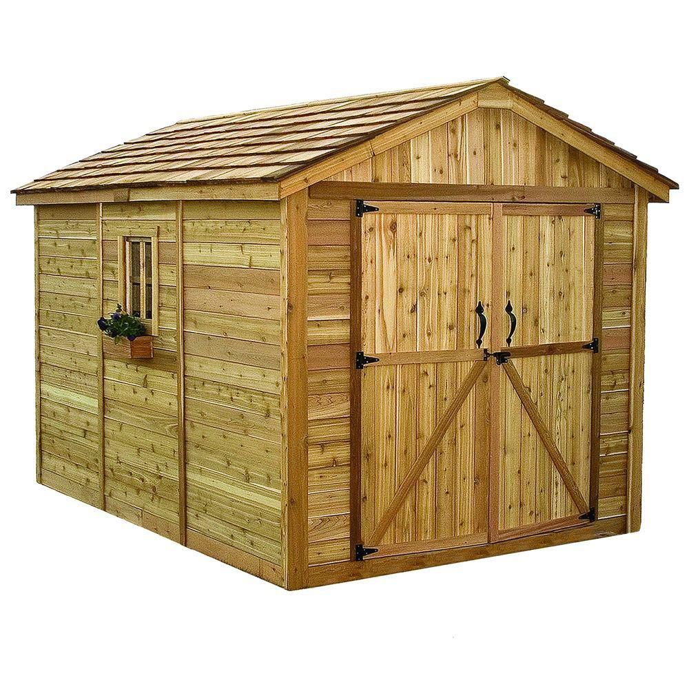 Spacemaker Storage Shed (8 Ft. X 12 Ft.)