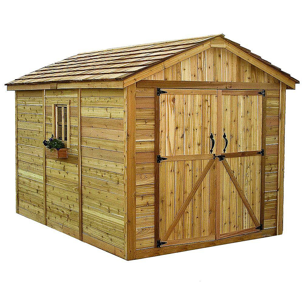 8 ft. x 12 ft. Spacemaker Storage Shed