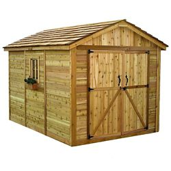 Outdoor Living Today 8 ft. x 12 ft. Spacemaker Storage Shed
