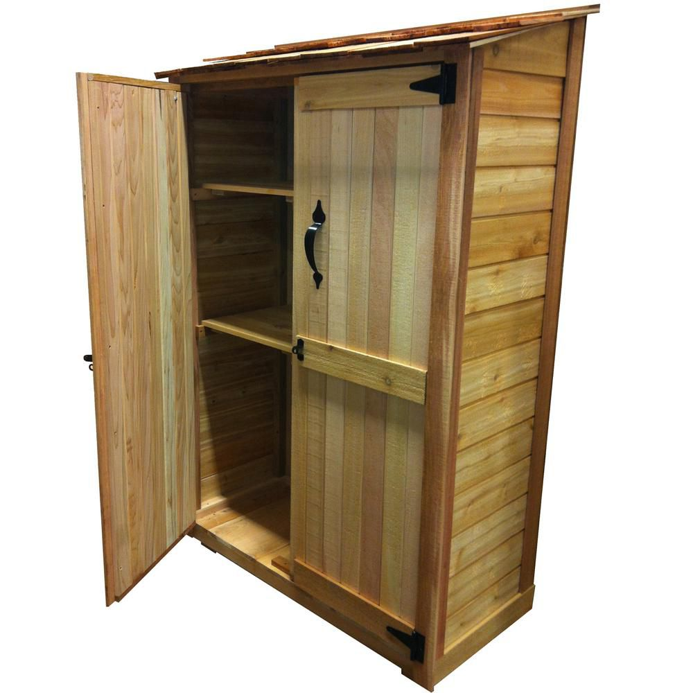 Garden Chalet Shed (4 Ft. x 2 Ft.)