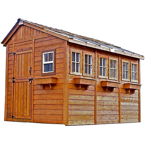 8 ft. x 12 ft. Sunshed Garden Shed
