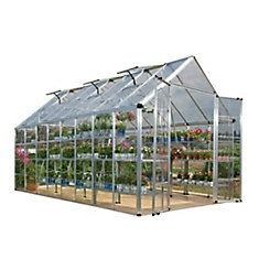Deluxe Snap N Grow 8 ft. x 16 ft. Greenhouse