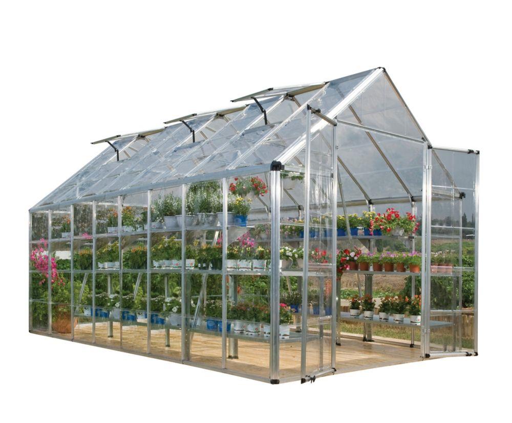 Deluxe Snap N Grow Greenhouse -  8 Feet x 16 Feet