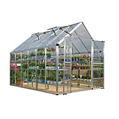 Deluxe Snap N Grow 8 ft. x 12 ft. Greenhouse