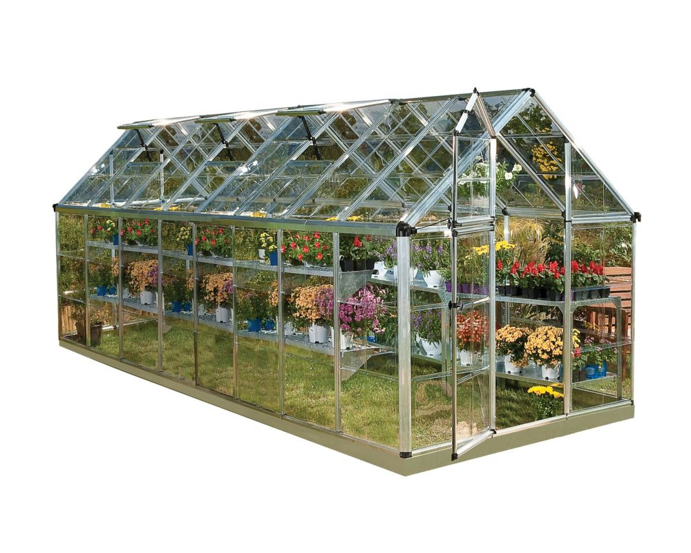Palram Deluxe Snap N Grow 6 ft. x 16 ft. Greenhouse