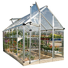 Deluxe Snap N Grow 6 ft. x 12 ft. Greenhouse