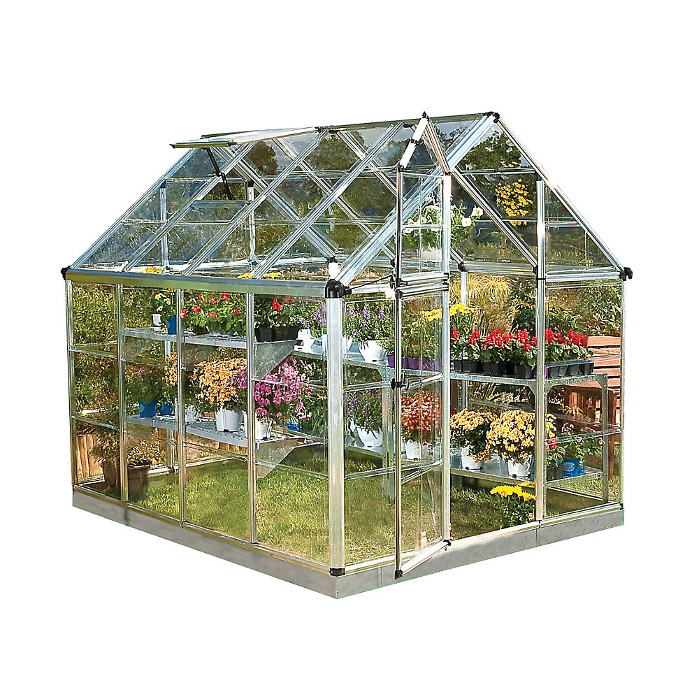 Deluxe Snap N Grow 6 ft  x 8 ft  Greenhouse