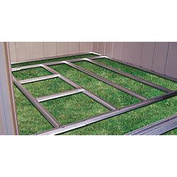 Arrow Charpente de plancher prête-à-assembler pour remise Arrow de 1,22 m x 2,13 m (4'x7') et 1,22 m x 3,05 m (4'x10')