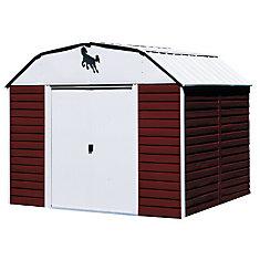 10 ft. x 14 ft. Red Barn