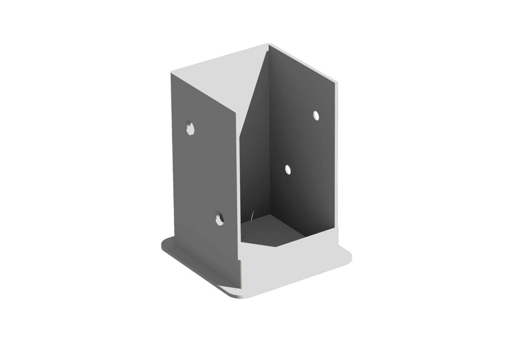 Pergola Bolt Down Bracket System (Set of 4)