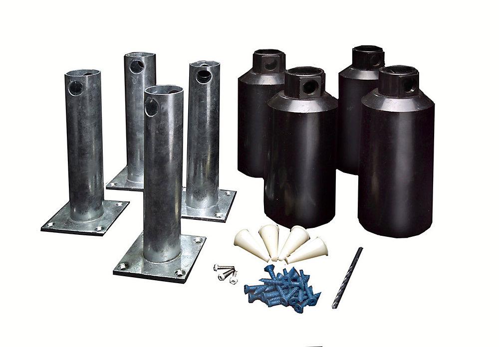 Éléments pour montage en surface - 5 po (ensemble de 4)