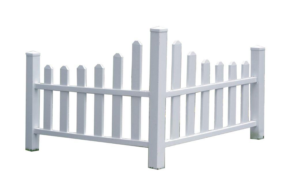 Vinyl Fencing Panels, Gates & Rails | The Home Depot Canada