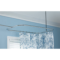 Shower Curtain Rods Curved More