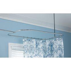 Foremost International Rectangular Shower Rod