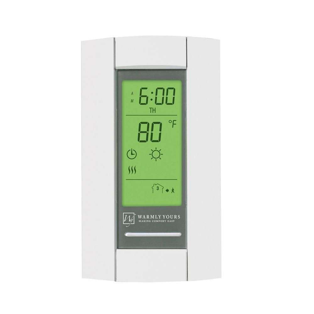 Dual Voltage SmartStat Floor Heating Thermostat