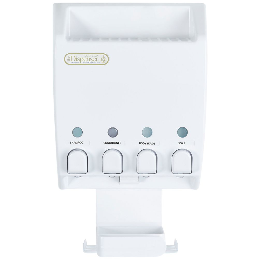 Distributeur Dispenser IV Support pour douche, blanc