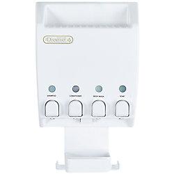 Better Living Ulti-Mate Dispenser 4 White Shower Caddy